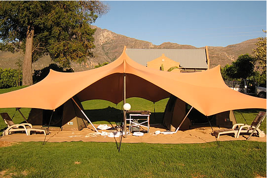 DESCRIPTION : tent accommodation - memphite.com