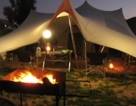 Wolfkop Camping village - freemform braai spot